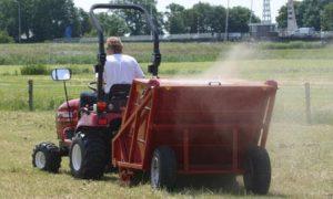 Mestveger tractor