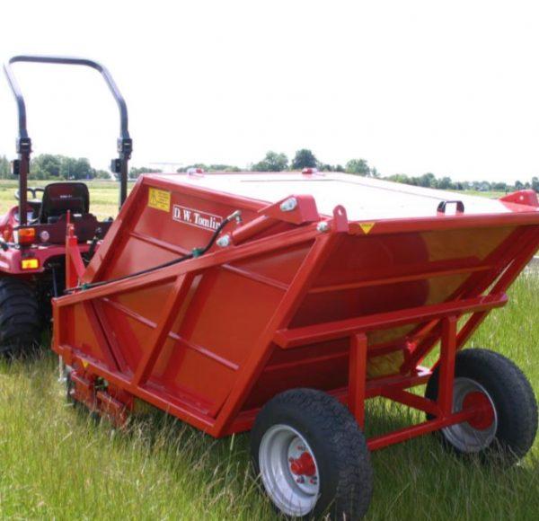 RC1200 paddock cleaner hydraulisch